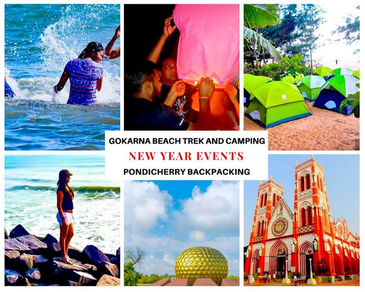Pondicherry Backpacking in New Year celebration 2018