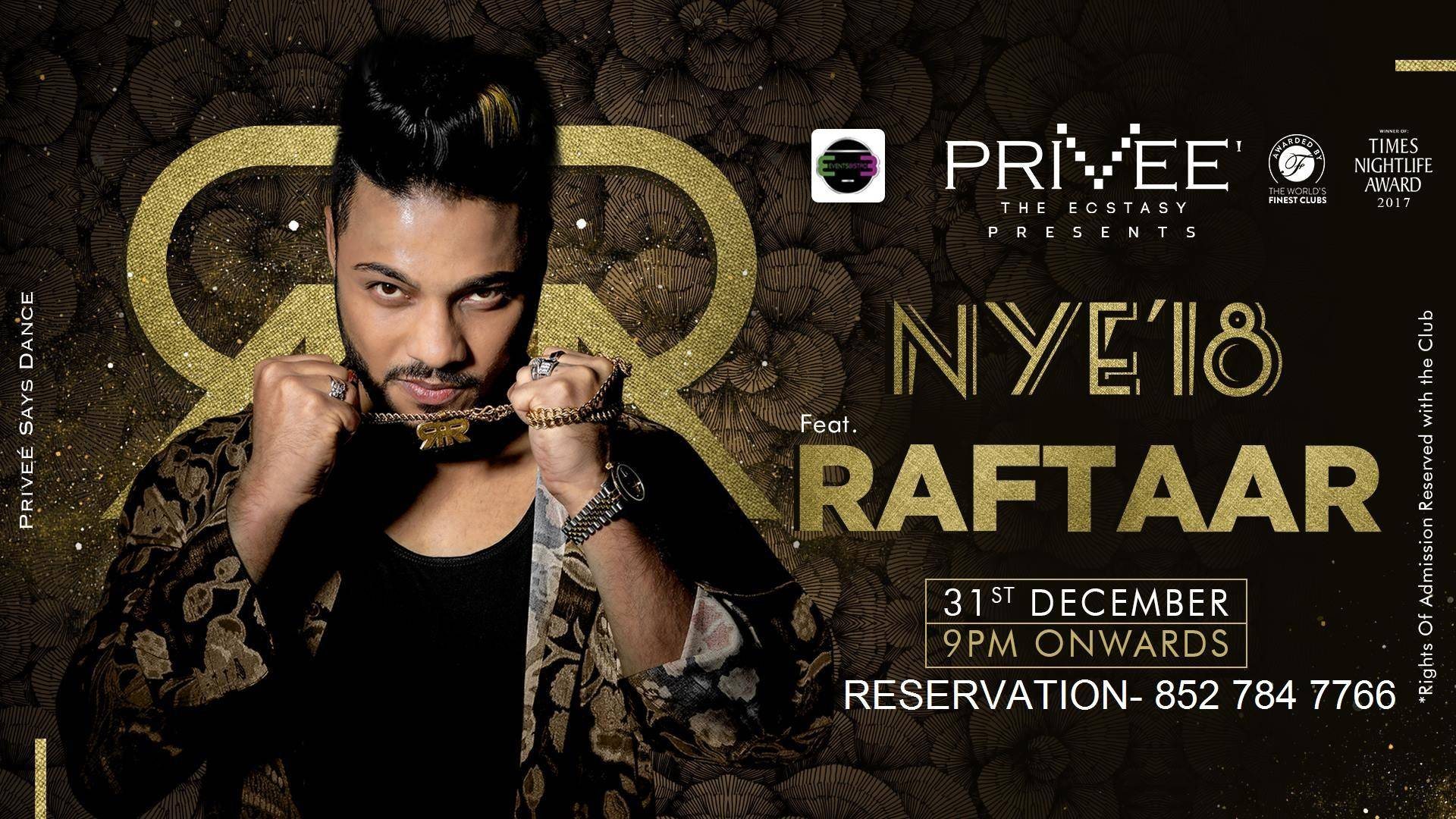 new year party 2018 in Delhi