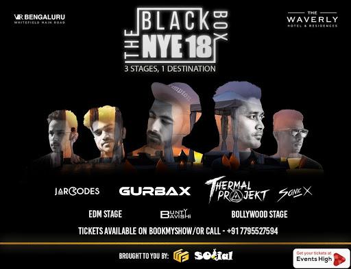 The Black Box - NYE 2018 at VR Mall Bangalore