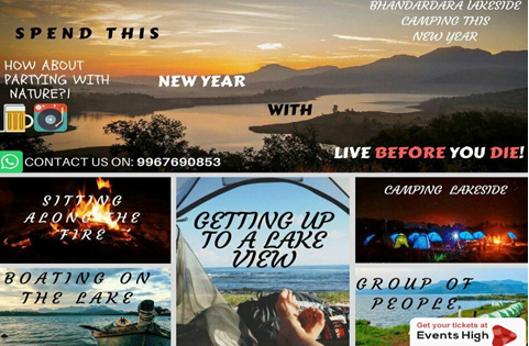 new year parties ticket booking