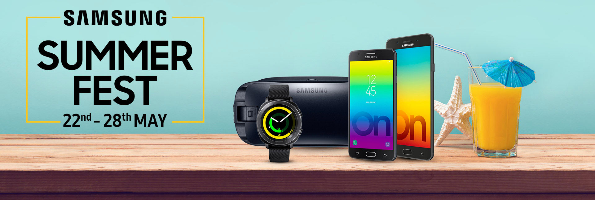 Samsung Summer Fest 22-28 May 2018, citi bank cashback offer