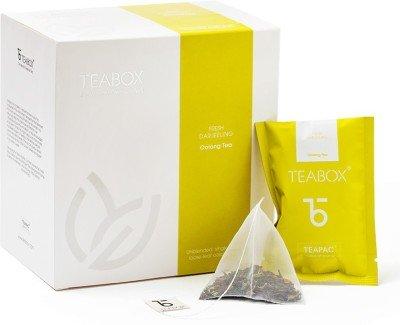 Teabox Natural Darjeeling Nitrogen-flushed Teabag Oolong Tea(16 Sachets, Box)